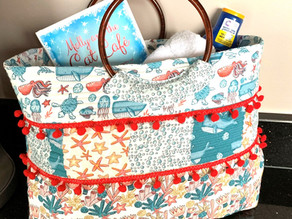 "A Variation on the ""Summer Spots"" bag"