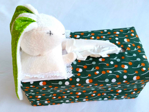 Bedside Tissue Box Cover