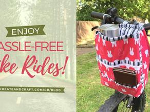 DIY Handlebar Bag: For Hassle-Free Bike Rides!