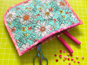 Quilted Foam Flat Pouch