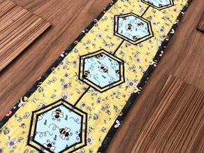 Buzzy Bee Table Runner