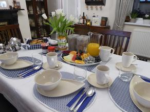 Modern Breakfast Table Set
