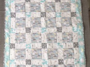 Goodnight Baby Cot Quilt
