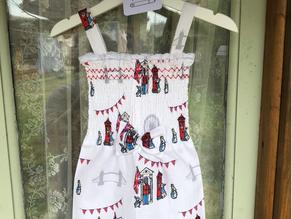 Peter Rabbit London Dress Tutorial