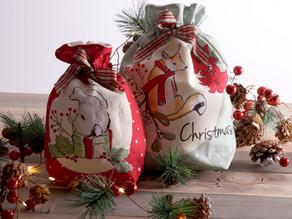 Christmas Critters Gift Bags Panel