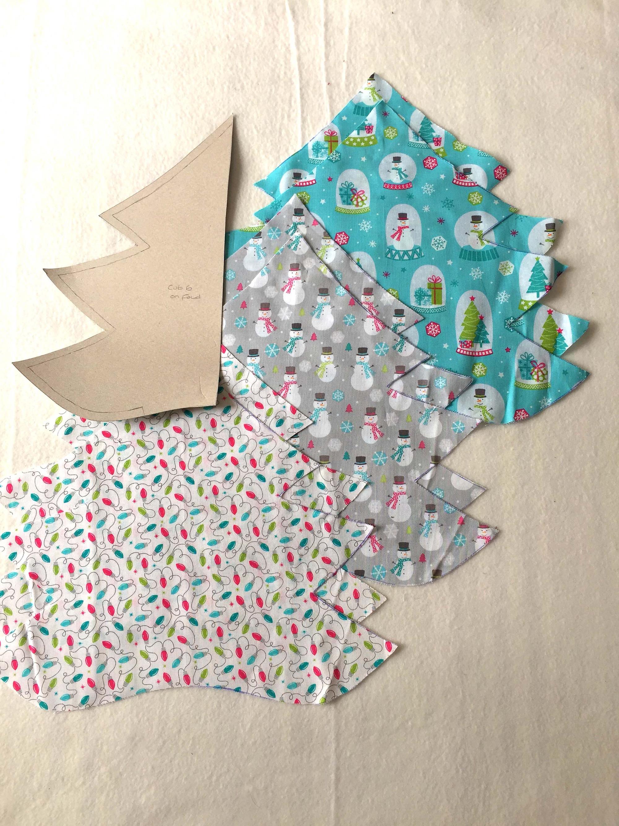 3d Fabric Christmas Tree
