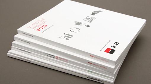 KB, Komerční banka, výroční zpráva