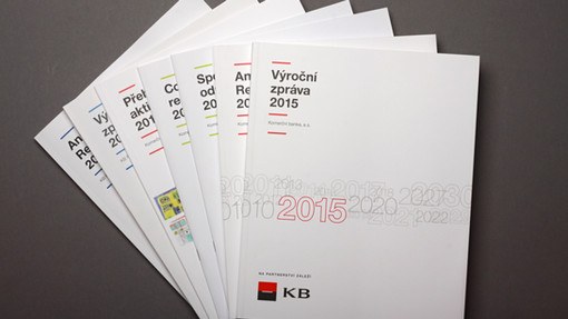 KB, Komerční banka, brožura V4