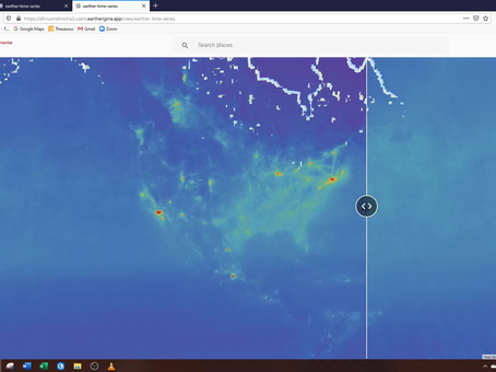 Interactive map showing global air quality impacts from COVID-19 shutdowns