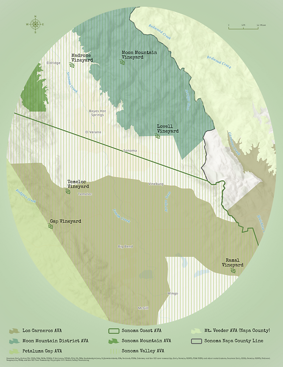 Winery map