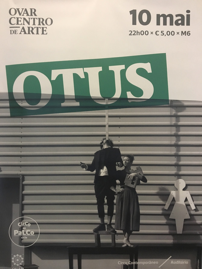 We are presenting OTUS @ Centro de Arte de Ovar. Come join us on Friday, May 10, 2019 at 10 PM – 11