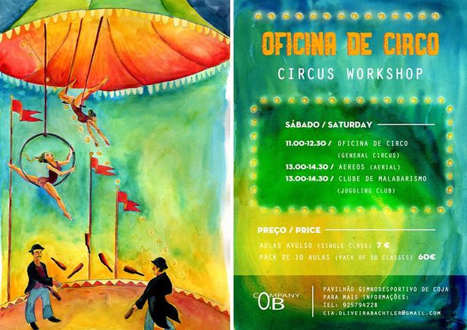 Circus classes in Coja start this Saturday!