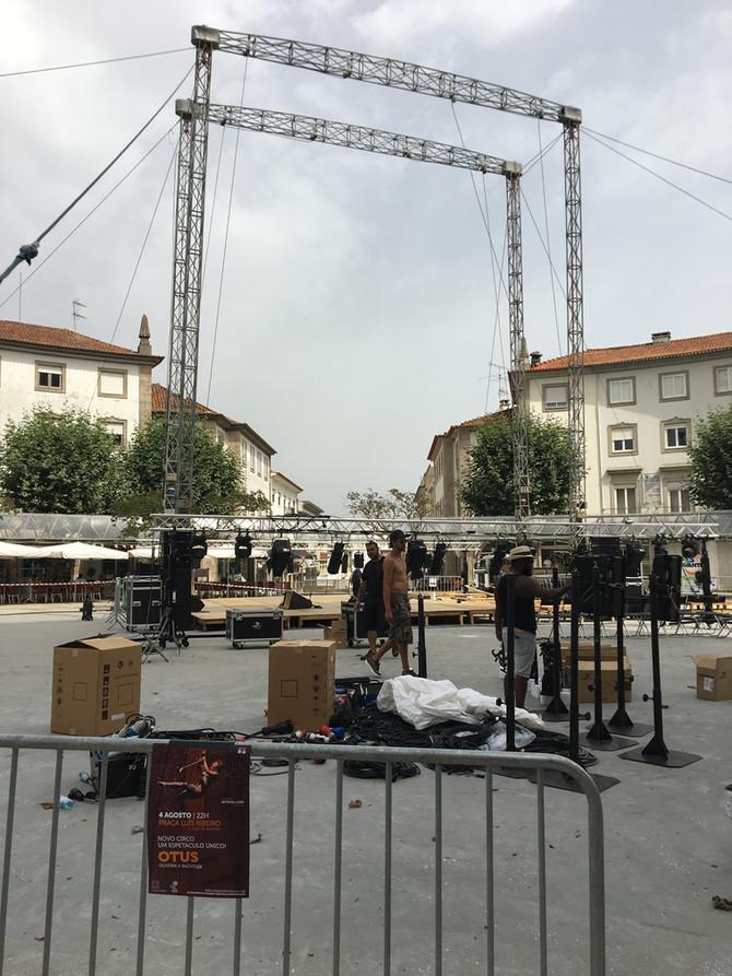 OTUS is showing at Praça Luis Ribeiro in São João da Madeira Saturday August 4th at 10pm