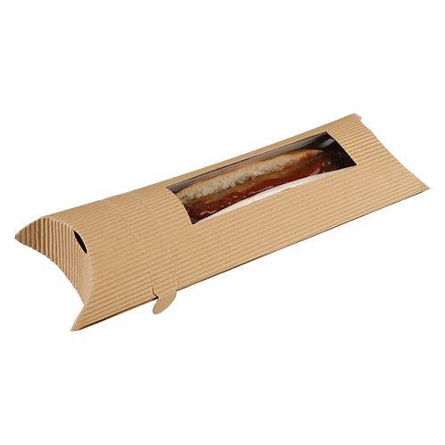 Large Pillow Kraft avec bague de scellage jusqu'à 220° ( U.V. 250pcs )