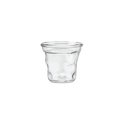 Tasse à café cabosse 15cl Crystal