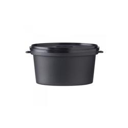 Cocotte ovale noir 35cl