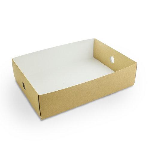 Insert tiroir 1/2 pour coffret kraft compostable ( U.V. 50pcs )