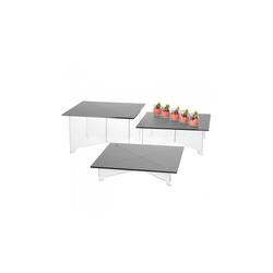Présentoir tables carrées