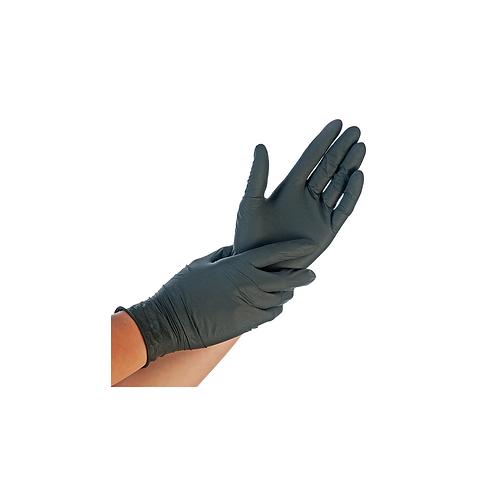 Gants Nitril Noir S-M-L-XL ( U.V. 100pcs )