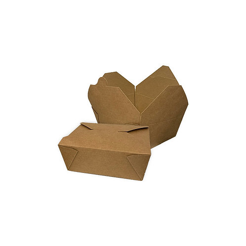 BioPack Kraft compostable 775ml ( U.V. 450pcs )