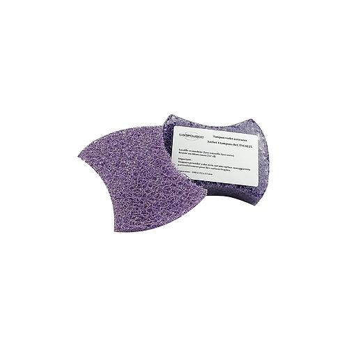 Tampon violet à récurer 100x133x13mm ( U.V. 4pcs )