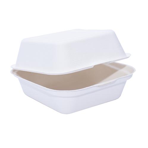 Burger Box Bio bagasse petite ( U.V. 500pcs )
