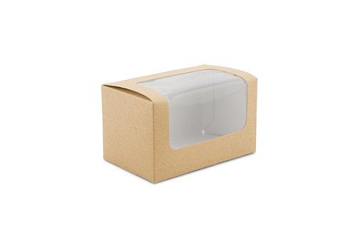 Square Cut Sandwich Pack Kraft ( U.V. 500pcs )