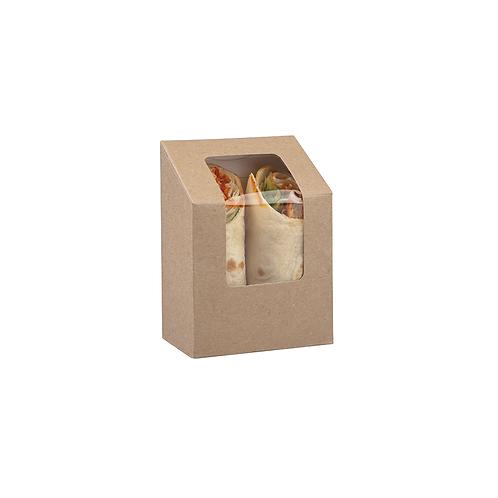 Tuck top Tortilla Kraft pour wraps ( U.V. 500pcs )