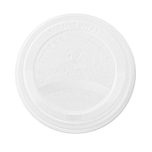 Couvercles CPLA pour gobelet à café 3dl ( U.V. 1000pcs )