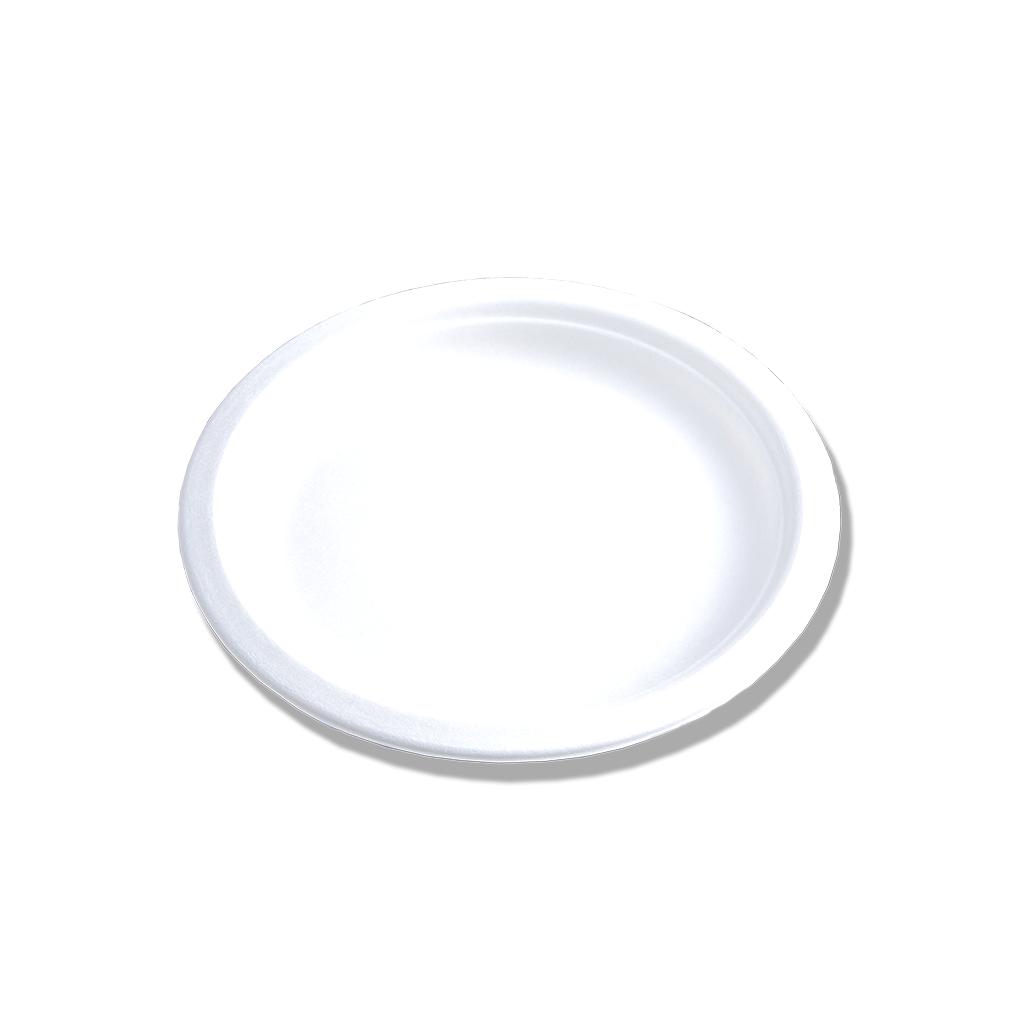 Assiette Bagasse ⌀15.5