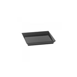 Assiette Cubik Noir 130x130mm