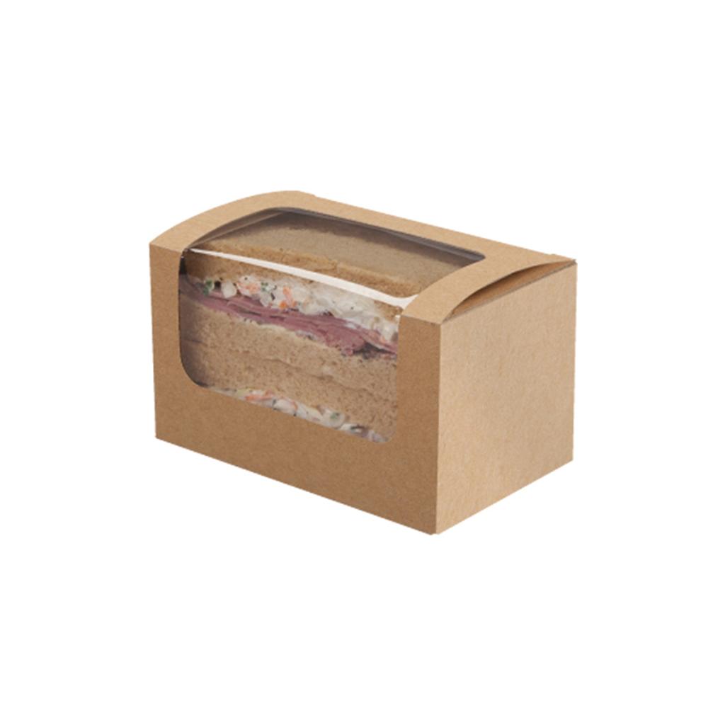 Square cup sandwich kraft