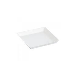 Assiette Cubik Bagasse 130x130mm