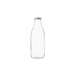 Bouteille de lait 1L + couvercle