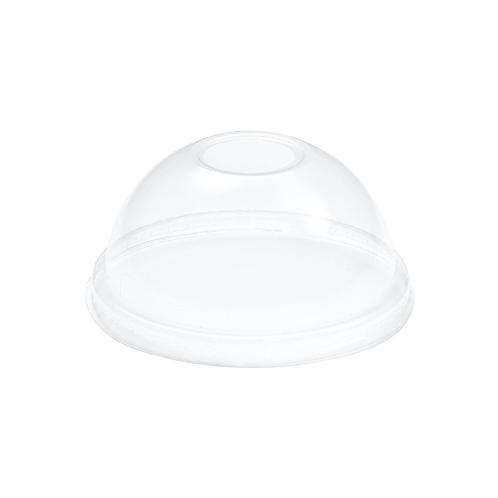 Couvercles dôme operculés pour gobelets 2.5dl ADBio PLA ( U.V. 100pcs )