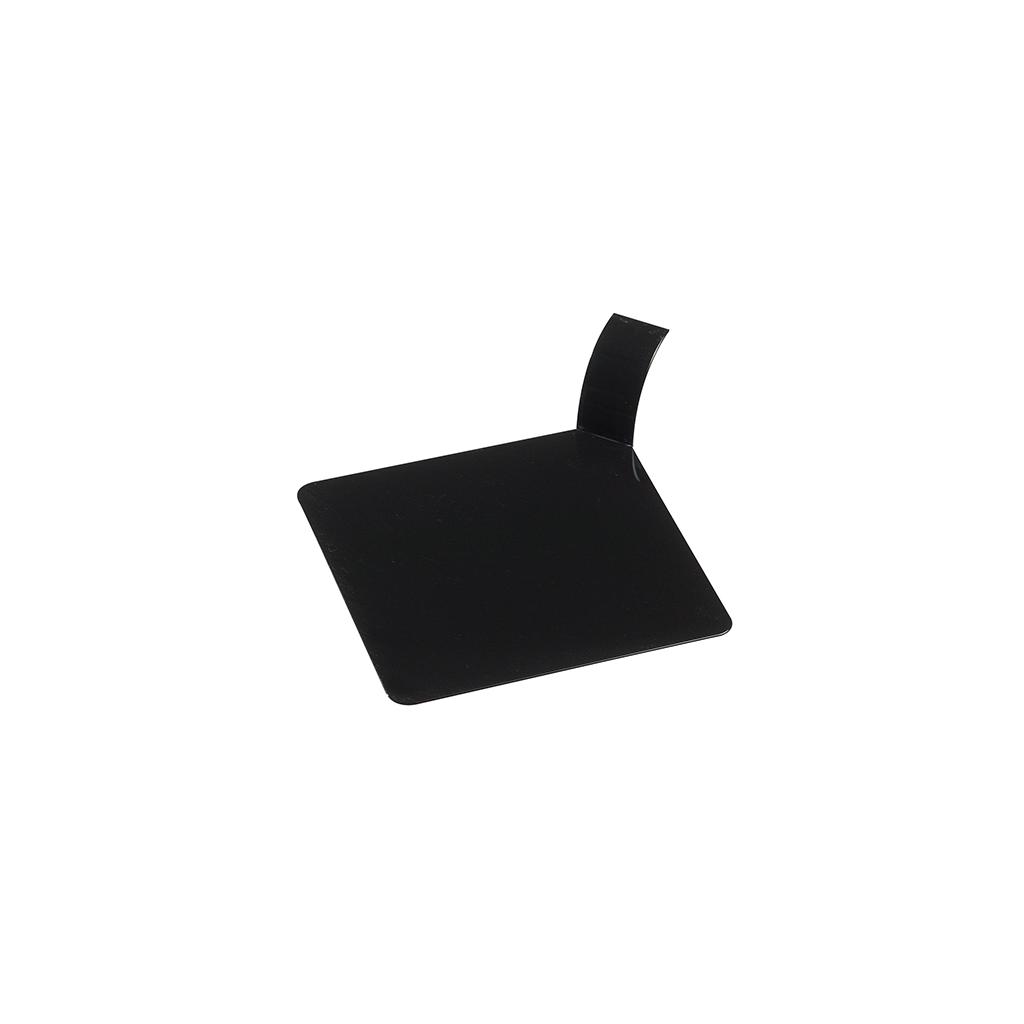 Planche carré noir pour pâtisseries