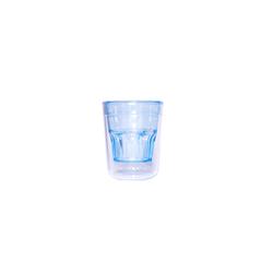 Tasse à café double wall 7cl Bleu
