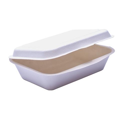 Lunch Box Bio bagasse 450ml ( U.V. 1000pcs )