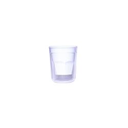 Tasse à café double wall 7cl Blanc