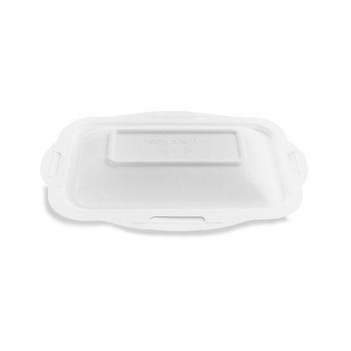 Couvercle bagasse pour barquette gourmet V3 ( U.V. 600pcs )