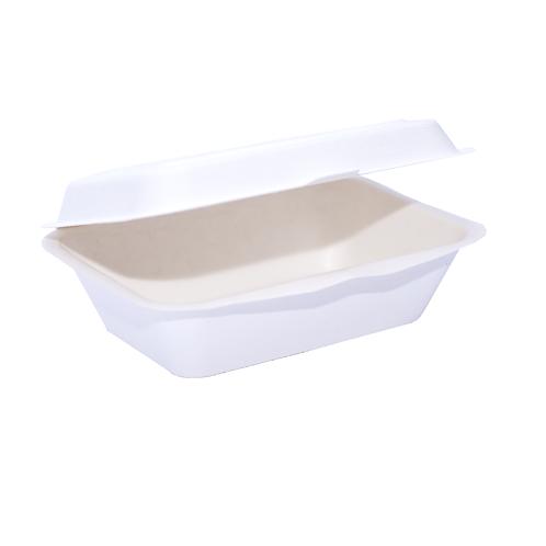 Lunch Box Bio bagasse 600ml ( U.V. 500pcs )