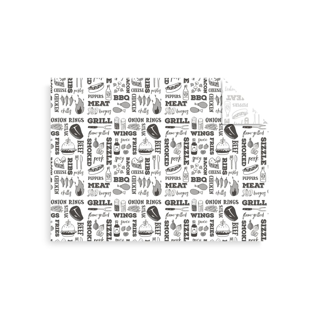 Papier ingraissable journal 220°C