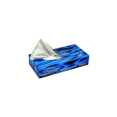 Mouchoirs cosmétiques 2v pure cellulose ( U.V. 40x100pcs )