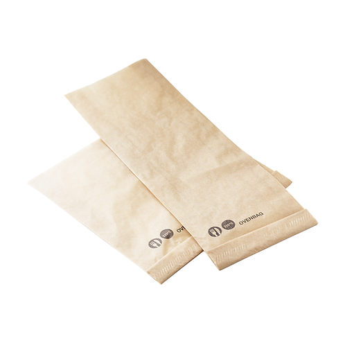 GrillBag Kraft brun jusqu'à 220°C rectangle ( U.V. 600pcs )