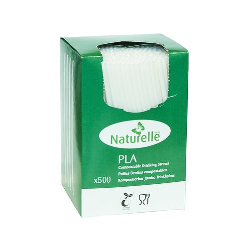 Pailles PLA opaques boite distributrice ( U.V. 500pcs )