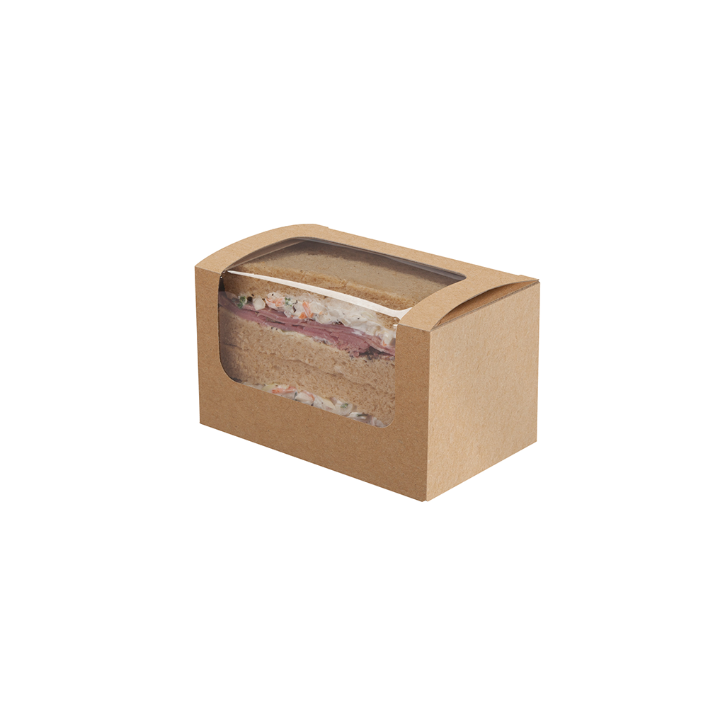Square Cup Sandwich pack kraft