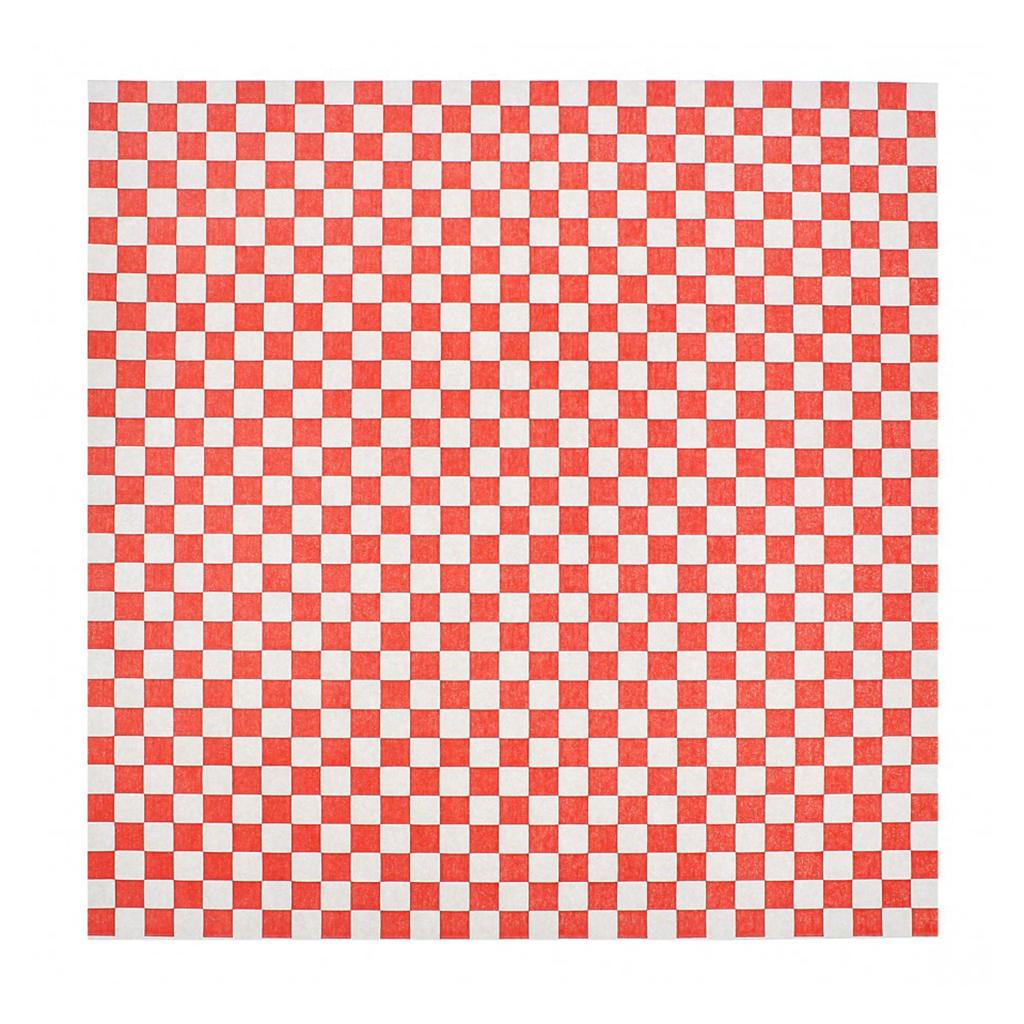 Papier Ingraissable Rouge/Blanc