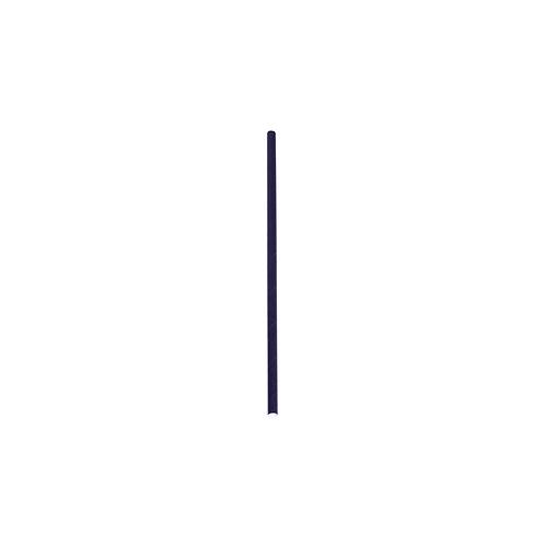 Pailles noires en papier ( U.V. 250pcs )