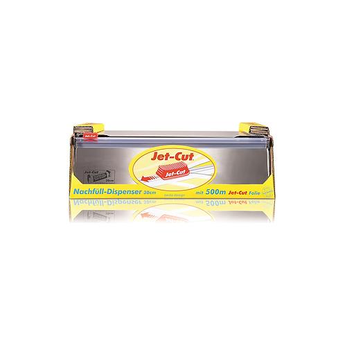 Distributeur Jet-Cut pour film 30cm + 1rlx de film 30cm x 500m ( U.V. pce )