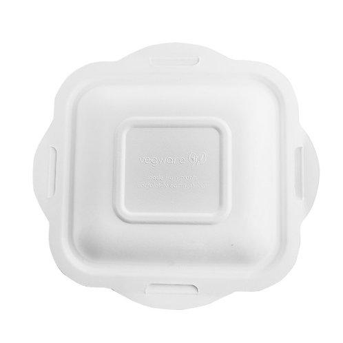 Couvercle bagasse pour Barquette gourmet V4 ( U.V. 600pcs )